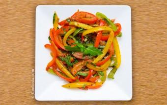 Peperonata | خوراک فلفل دلمه
