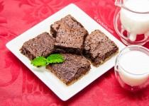 براونی شکلاتی  Chocolate Fudge Brownie