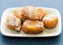 شیرینی پفی سیب و دارچین | Apple and Cinnamon Choux