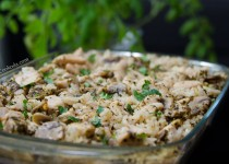 خوراک مرغ و برنج در فر | Chicken and Rice Casserole