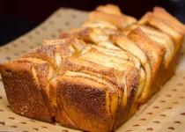 شیرینی دارچینی   Cinnamon Bread