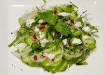 سالاد خیار با پنیر فتا | Cucumber Salad with Feta