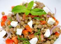 سالاد عدس لبنانی | Lebanese Lentil Salad