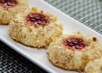 شیرینی مربایی | Thumbprint Cookies