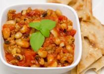 خوراک لوبیا چشم بلبلی | Black-Eyed Pea Stew