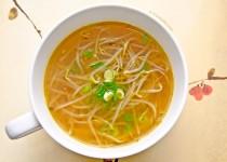 سوپ جوانه گندم   Bean Sprout Soup