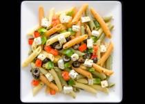 سالاد پاستا با فتا   Pasta Salad with Feta
