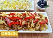 خوراک کلم با گوشت چرخ شده | Beef & Cabbage Dish