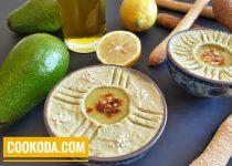 حمص با آووکادو | Hummus With Avocado