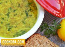 سوپ کدو سبز   Zucchini Soup