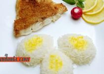 فیله ماهی هامور در فر | Baked Hamour Fish