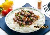 خوراک لوبیا | Black Bean Stew