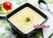 سوپ بروکلی و چدار | Broccoli Cheddar Soup