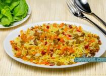 هویج پلو   Carrot Rice