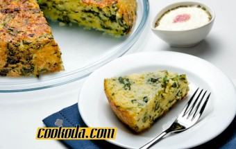 cheddar-spinach-pie