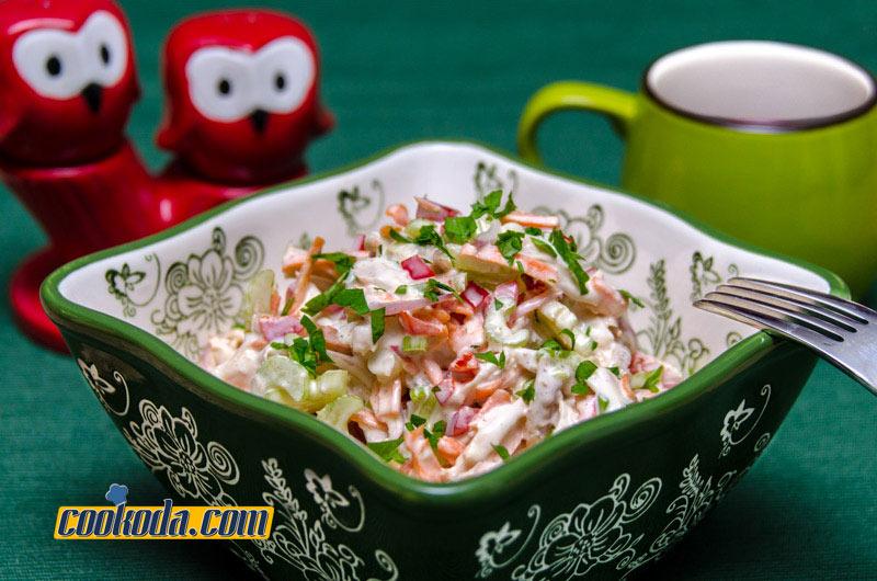 Cookoda.com-chicken-and-vegetable-salad