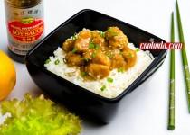 خوراک مرغ با سس پرتقال   Chinese Orange Chicken