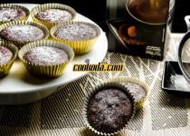 کیک فنجانی شکلاتی   Chocolate Cupcakes