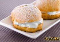 شیرینی خامه ای   Cream Puff