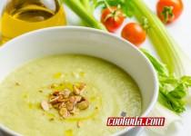 پوره کرفس |  Creamy Celery Soup