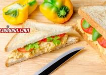 ساندویچ سالاد تخم مرغ |  Egg Salad Sandwich