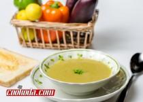 سوپ عدس و بادمجان   Eggplant & Lentil Soup
