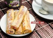 رول تست فرانسوی | French Toast Roll-Ups