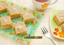 کیک گردو و عسل یونانی   Greek Walnut and Honey Cake