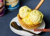 بستنی زعفرانی خانگی | Homemade Saffron Icecream