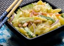 سالاد سیبزمینی ژاپنی | Japanese Potato Salad