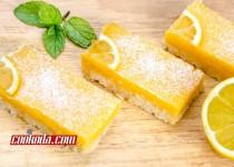 دسر لیمویی   Lemon Bars
