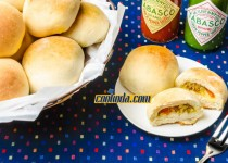 پیراشکی گوشت و کلم | Meat & Cabbage Buns