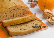 کیک گردو و پرتقال مراکشی   Moroccan Orange Walnut Cake