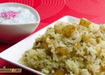 سیب زمینی پلو | Potato Rice